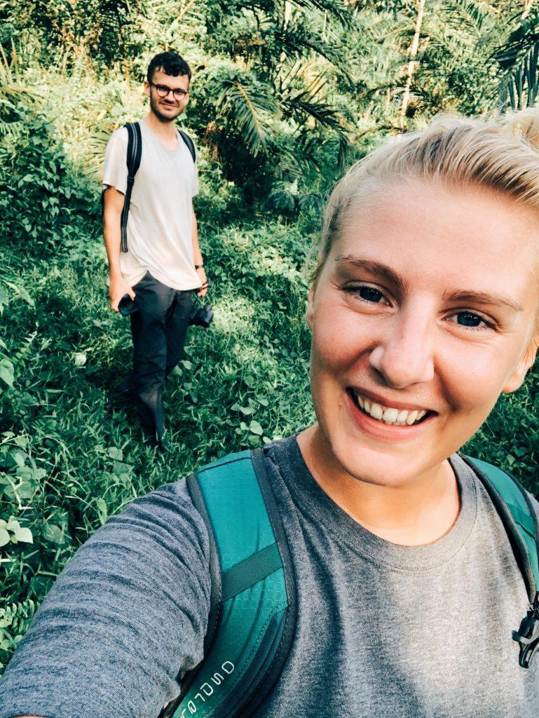 spotting orangutans in the wild