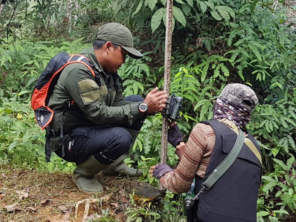 camera trap program - reduce human-wildlife conflict