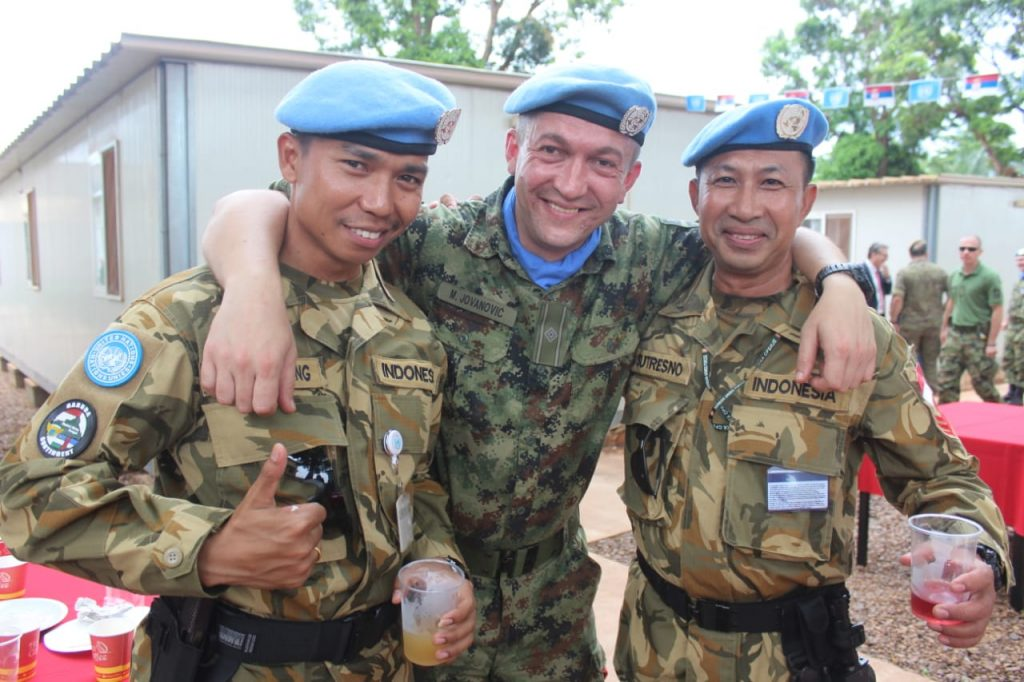 Ranger, Arie, with the UN
