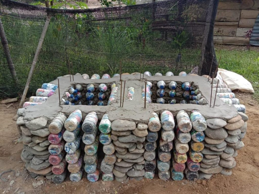 plastic waste sumatra